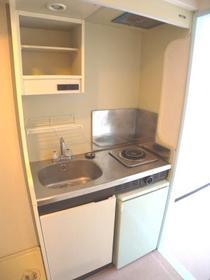 パンシオン南浦和No.1 302号室のキッチン