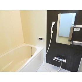ヒルコート万騎が原 0201号室の風呂