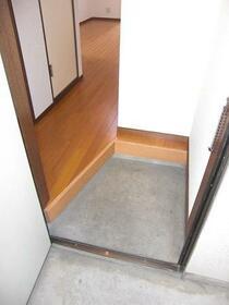 AP上石神井 101号室の玄関