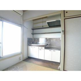 いずみ荘 06号室のキッチン