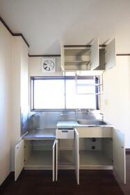 ハイツ634 B棟 202号室のキッチン
