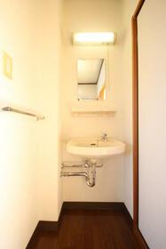 ハイツ634 B棟 202号室の洗面所
