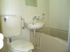 ハイツ南浦和 307号室のトイレ