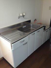サーフサイドヒルズ九十九里 201号室のキッチン