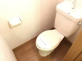 リバーハイムⅣ 103号室のトイレ