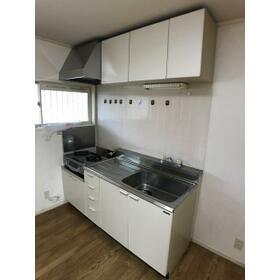 アサヒハイツ 202号室のキッチン