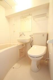 コスモ亀有Ⅴ 803号室のトイレ
