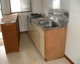 群馬学園ビル 201号室のキッチン