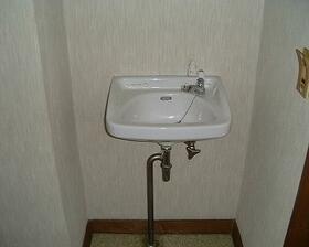 群馬学園ビル 201号室の洗面所