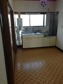 コーポ21 202号室のキッチン