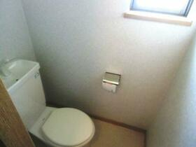 シティヒルズ 2F号室のトイレ