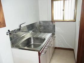 新井荘 201号室のキッチン