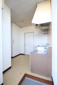 渋沢コーポ 202号室の玄関