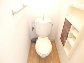 ラフォーレ常見3 102号室のトイレ