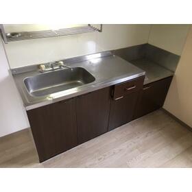 コージコート 205号室のキッチン