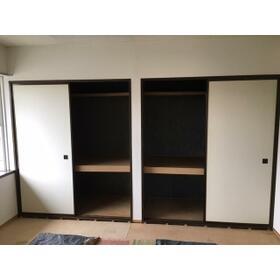 コージコート 205号室の収納