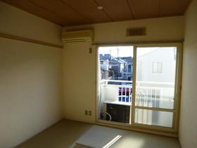 石井ハイツ 201号室のバルコニー