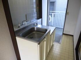 石井ハイツ 201号室のキッチン
