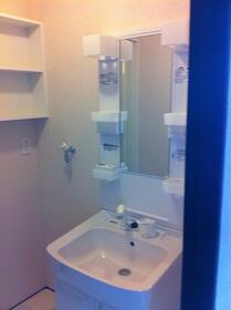 ウエストヒルズ 104号室の洗面所