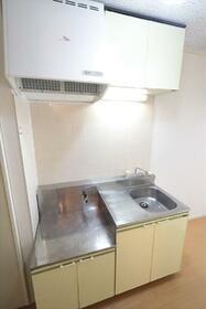 カーサK2 B棟 205号室のキッチン