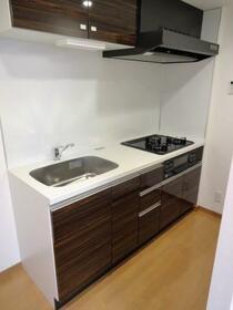 LUMEED飯田橋 207号室のキッチン