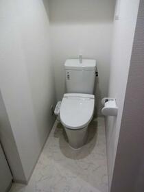 LUMEED飯田橋 207号室のトイレ