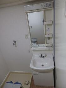 不二西堀マンション 301号室の洗面所