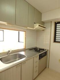 ディアコート壱番館 203号室のキッチン