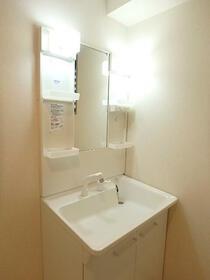 ディアコート壱番館 203号室の洗面所