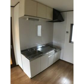 松風館 Ⅱ 202号室のキッチン