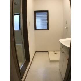 松風館 Ⅱ 202号室の洗面所