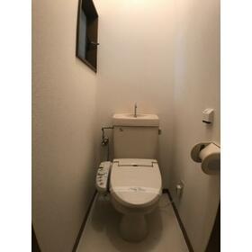 松風館 Ⅱ 202号室のトイレ
