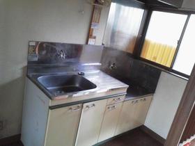 宮の前コーポラス 2号室のキッチン