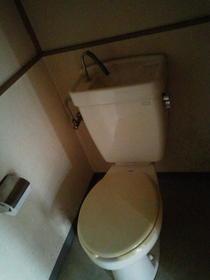 宮の前コーポラス 2号室のトイレ