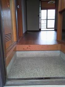 宮の前コーポラス 2号室の玄関