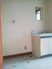 宮の前コーポラス 2号室の洗面所
