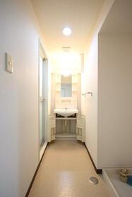 YAMASUマンション砂原 202号室の洗面所