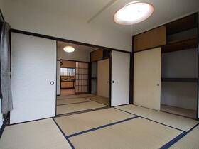 レトロアパート寿荘 10号室のベッドルーム