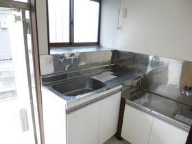 磯貝アパート 101号室のキッチン