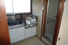 ヒルハイツ羽沢 A棟 101号室のキッチン