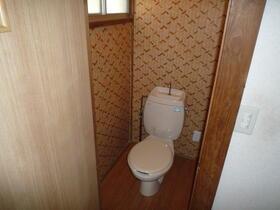 ヒルハイツ羽沢 A棟 101号室のトイレ