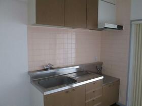 ベルハウス井野2 205号室のキッチン