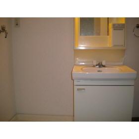 コーポ木村 202号室の洗面所