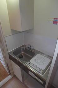 フルート元町 202号室のキッチン