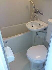 大野ビル 202号室の風呂