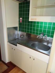 大野ビル 202号室のキッチン