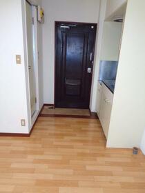大野ビル 202号室の玄関