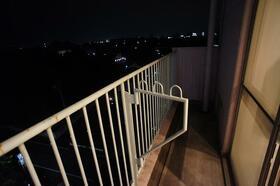 高崎セントラルハイツ 618号室のバルコニー