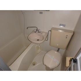 レオパレス北与野第1 205号室のトイレ