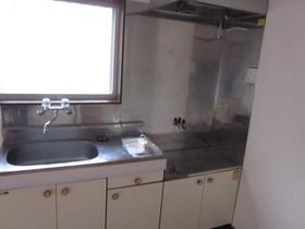 デュークハイツクロガネ 201号室のキッチン